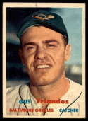 1957 Topps #156 Gus Triandos UER NM Near Mint