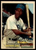 1957 Topps #159 Solly Drake EX/NM RC Rookie