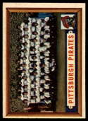 1957 Topps #161 Pirates Team EX/NM