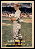 1957 Topps #162 Jack Meyer EX Excellent