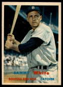 1957 Topps #163 Sammy White NM Near Mint