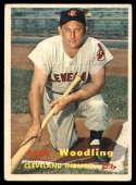 1957 Topps #172 Gene Woodling EX Excellent