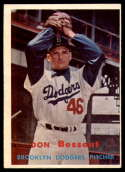 1957 Topps #178 Don Bessent EX Excellent