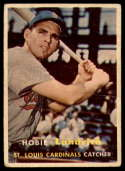 1957 Topps #182 Hobie Landrith VG Very Good