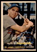 1957 Topps #182 Hobie Landrith EX++ Excellent++