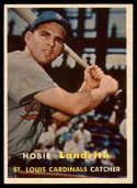 1957 Topps #182 Hobie Landrith EX/NM