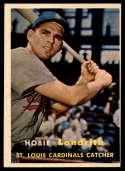 1957 Topps #182 Hobie Landrith NRMT o/c