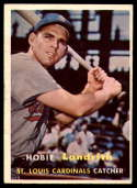 1957 Topps #182 Hobie Landrith EX Excellent