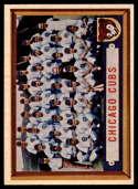 1957 Topps #183 Cubs Team EX/NM