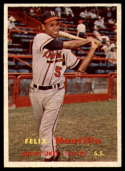 1957 Topps #188 Felix Mantilla EX/NM RC Rookie