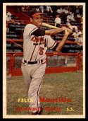 1957 Topps #188 Felix Mantilla VG/EX Very Good/Excellent RC Rookie