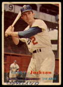 1957 Topps #190 Randy Jackson mark