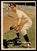 1957 Topps #192 Jerry Coleman NM Near Mint
