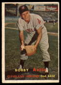 1957 Topps #195 Bobby Avila VG/EX Very Good/Excellent