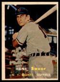 1957 Topps #197 Hank Sauer NRMT o/c