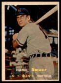 1957 Topps #197 Hank Sauer VG Very Good