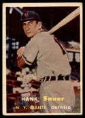 1957 Topps #197 Hank Sauer EX Excellent