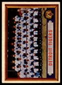 1957 Topps #198 Tigers Team NM Near Mint