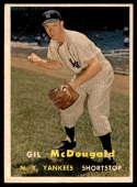 1957 Topps #200 Gil McDougald VG Very Good