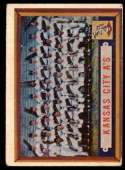 1957 Topps #204 Athletics Team VG Very Good
