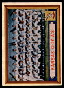 1957 Topps #204 Athletics Team EX/NM