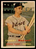 1957 Topps #205 Charlie Maxwell EX Excellent