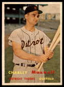 1957 Topps #205 Charlie Maxwell EX/NM