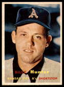 1957 Topps #207 Billy Hunter NM Near Mint
