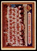 1957 Topps #214 Phillies Team EX/NM