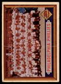 1957 Topps #214 Phillies Team G/VG Good/Very Good