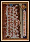 1957 Topps #214 Phillies Team VG Very Good