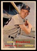 1957 Topps #217 Gene Stephens EX/NM