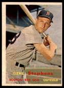 1957 Topps #217 Gene Stephens EX++ Excellent++