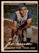 1957 Topps #218 Ray Jablonski NRMT o/c