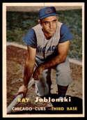 1957 Topps #218 Ray Jablonski NM Near Mint
