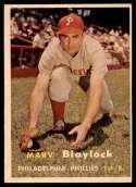 1957 Topps #224 Marv Blaylock EX++ Excellent++