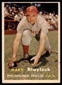 1957 Topps #224 Marv Blaylock G/VG Good/Very Good