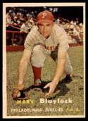 1957 Topps #224 Marv Blaylock EX/NM