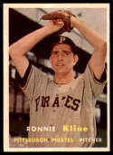 1957 Topps #256 Ron Kline NM Near Mint