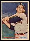 1957 Topps #267 Danny Kravitz VG/EX Very Good/Excellent RC Rookie