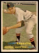 1957 Topps #301 Sammy Esposito DP EX/NM RC Rookie