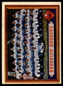 1957 Topps #324 Dodgers Team EX Excellent