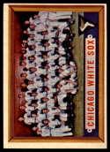 1957 Topps #329 White Sox Team EX/NM