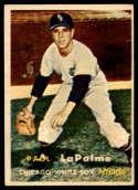 1957 Topps #344 Paul LaPalme EX Excellent