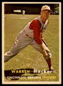 1957 Topps #370 Warren Hacker EX/NM