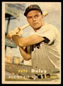 1957 Topps #388 Pete Daley EX Excellent