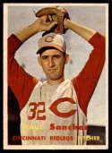 1957 Topps #393 Raul Sanchez EX/NM RC Rookie