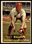 1957 Topps #397 Roy Smalley EX++ Excellent++