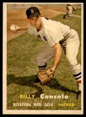 1957 Topps #399 Billy Consolo VG/EX Very Good/Excellent