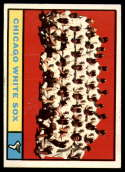 1961 Topps #7 White Sox Team EX/NM